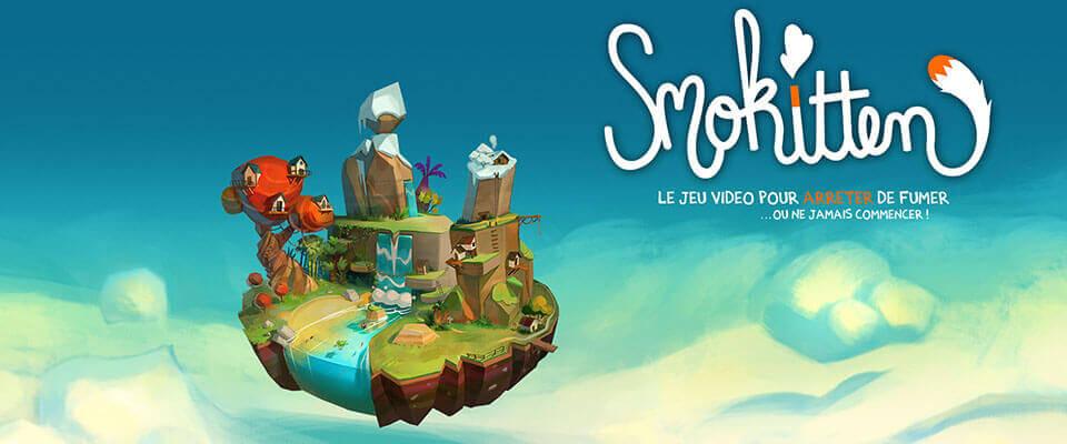 Smokitten, jeu vidéo mobile pour arrêter de fumer