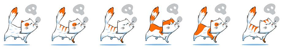 Smokitten proposition de couleurs de chats