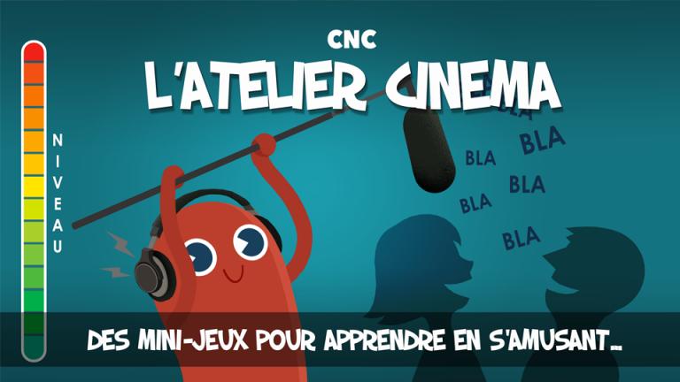 digital learning sous forme de minis-jeux pour découvrir le cinema, ATELIER CINEMA par DOWiNO