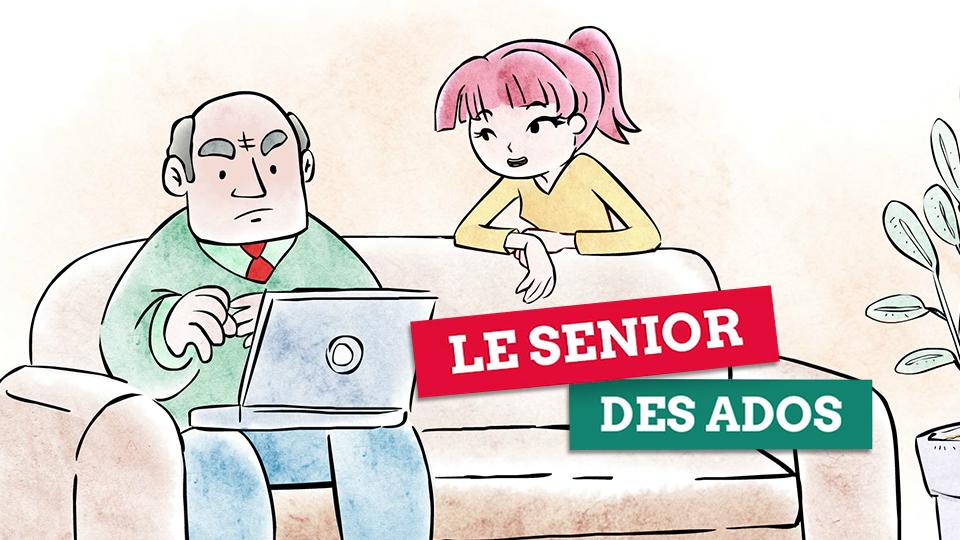 film pédagogique sur les risques liés à internet, le senior des ados, réalisé par DOWiNO