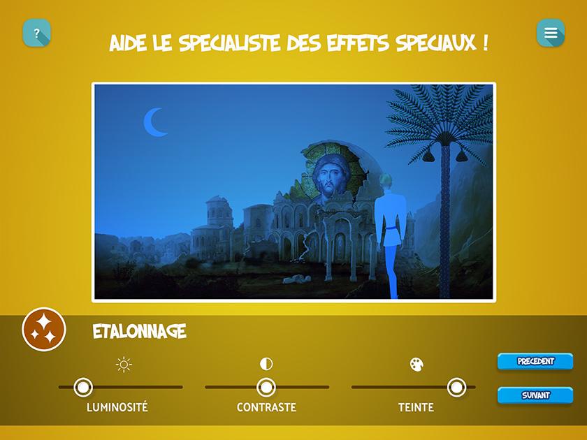 Projet de Digital Learning, Atelier Cinéma, réalisé par Dowino