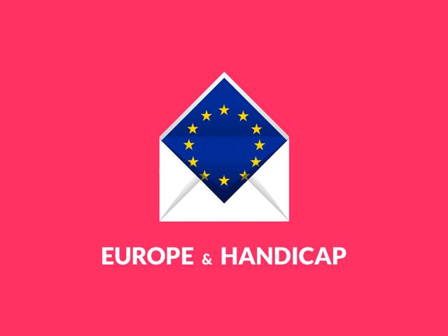 Projet d'application, Europe et Handicap, réalisé par Dowino