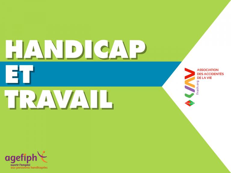 Application handicap réalisée par DOWiNO, HANDICAP ET TRAVAIL traite des enjeux du handicap dans la sphère professionnelle