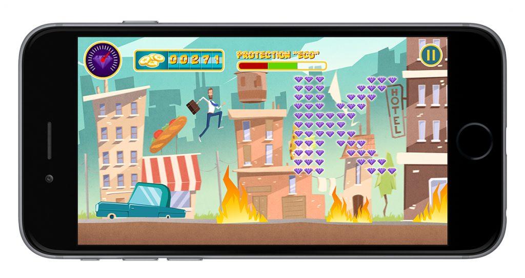 Projet de Serious Game, Les Klés de ma Santé, réalisé par Dowino
