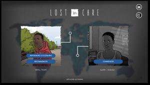 Projet de Serious Game, Lost In Care, réalisé par Dowino