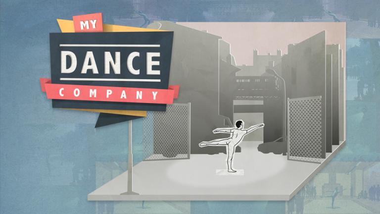 Projet de Serious Game, My Dance Company, réalisé par Dowino