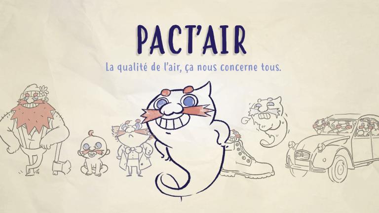 Projet de Gigital Learning, Pact'Air, réalisé par Dowino