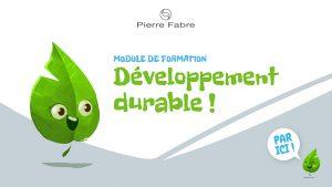 Projet de Digital Learning, Pierre Fabre RSE, réalisé par Dowino