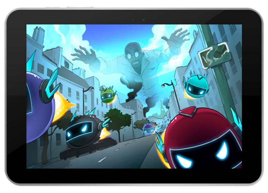 Projet de Serious Game, SOS Mission Eau, réalisé par Dowino