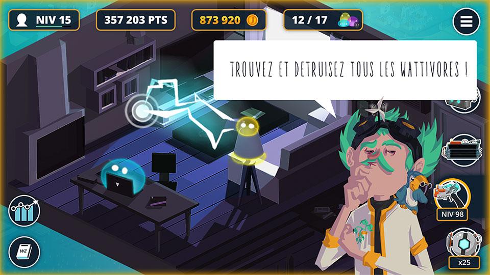 Projet de Serious Game, Wasteblasterz, réalisé par Dowino