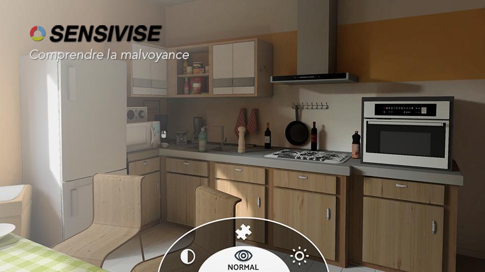 Sensivise serious game VR