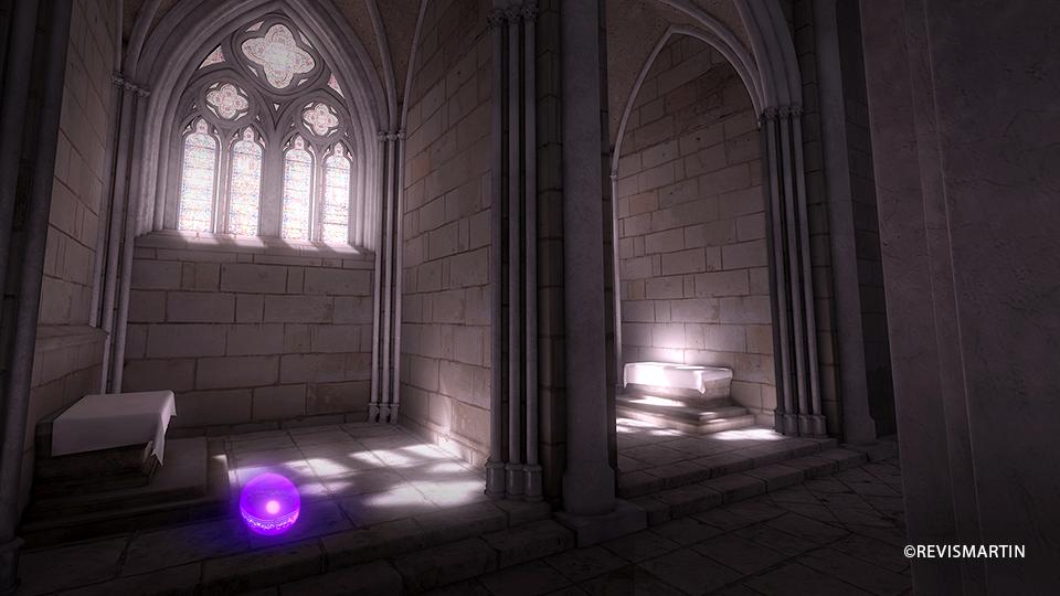 Visitez la collégiale saint martin en réalité virtuelle