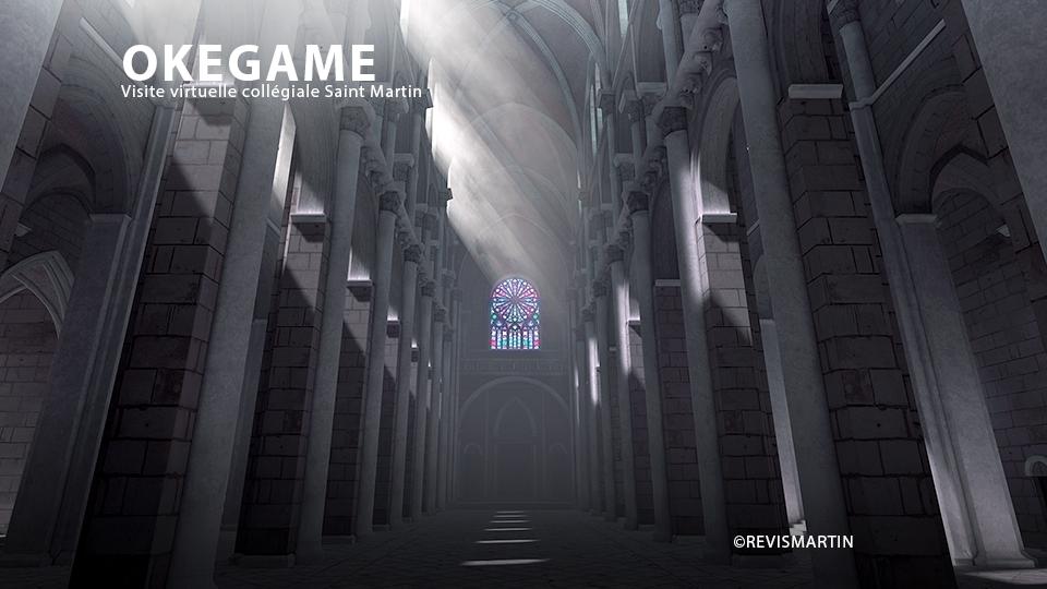 Projet de serious game en réalité virtuelle, OKEGAME, réalisé par DOWiNO