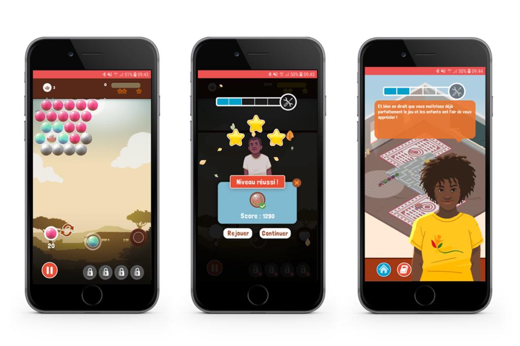 Projet de serious game solidarité, Classroom rescue pour l'accès à l'éducation, réalisé par DOWINO
