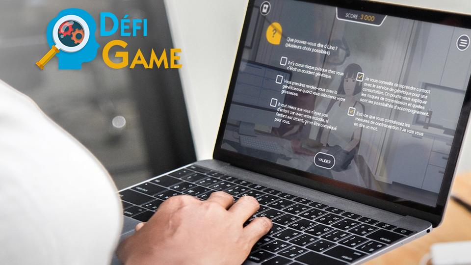 Projet de serious game santé, DEFI GAME, par DOWINO