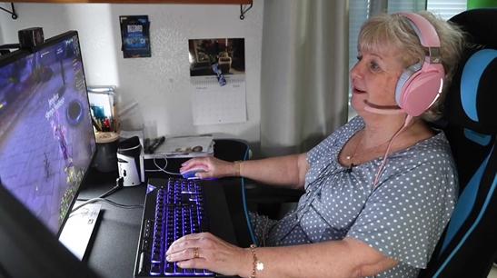 les personnes âgées et les jeux vidéos