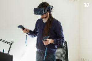 Un casque VR pour un serious game - innovation dans les jeux sérieux