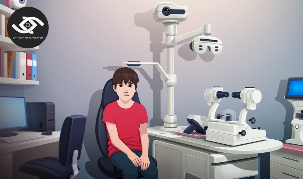 Orthoptist simulator est un serious game réalisé par DOWiNO pour former les futurs orthoptistes à la réalisation des examens